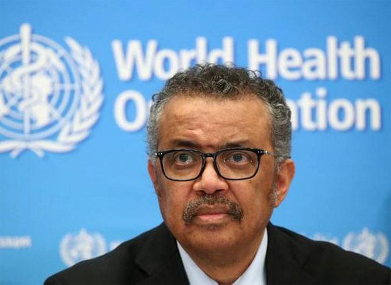 Tedros Adhanom Ghebreyesus WHO corona vaccine