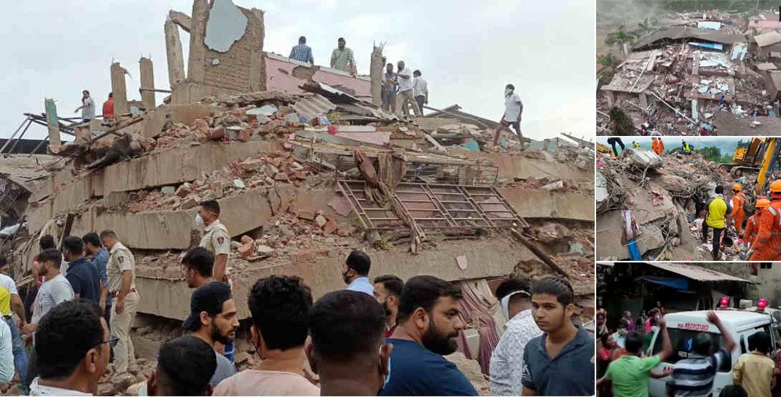 रायगड-महाड इमारत दुर्घटना, दोघांचा मृत्यू