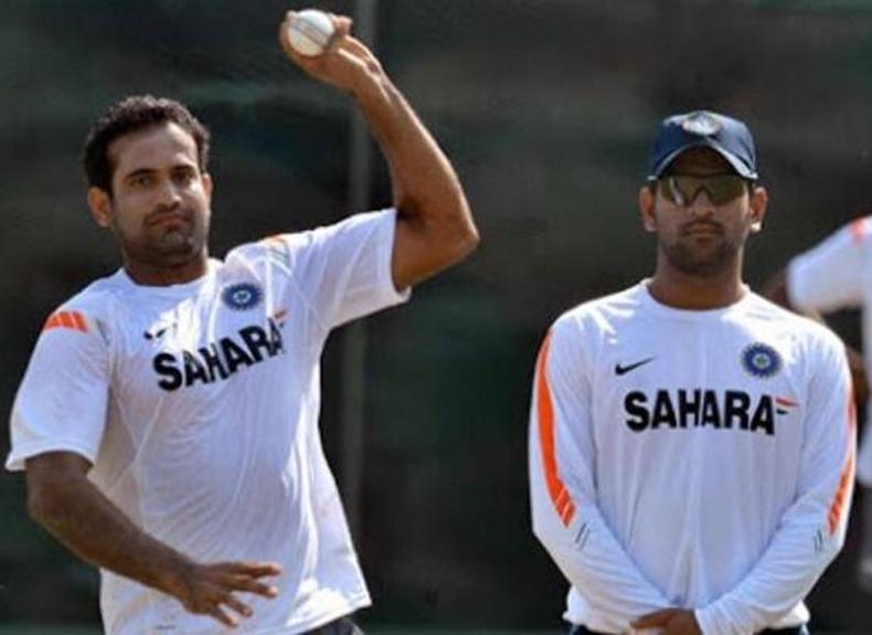 dhoni irfan pathan cricket