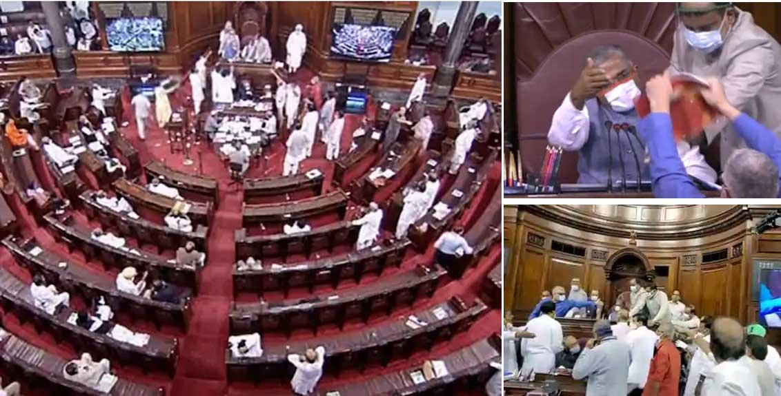 farmers bill passes in Rajya Sabha
