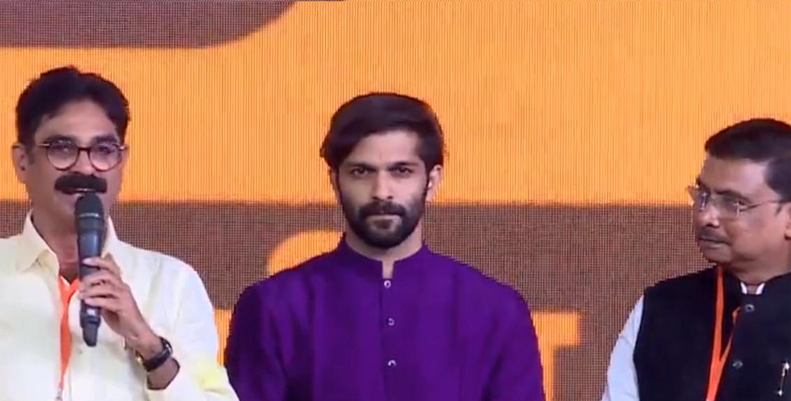Maharashtra Navnirman Sena leader Amit Raj Thackeray