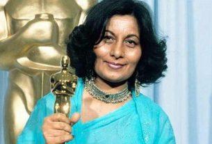 Famous costume designer Bhanu Athayya