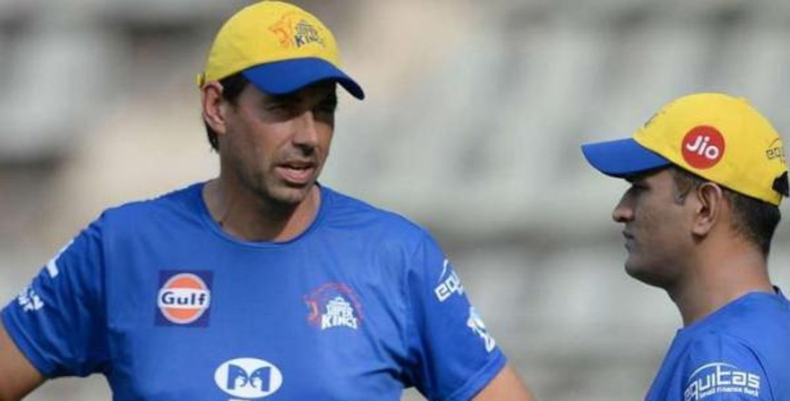 Dhoni thanked coach Stephen Fleming