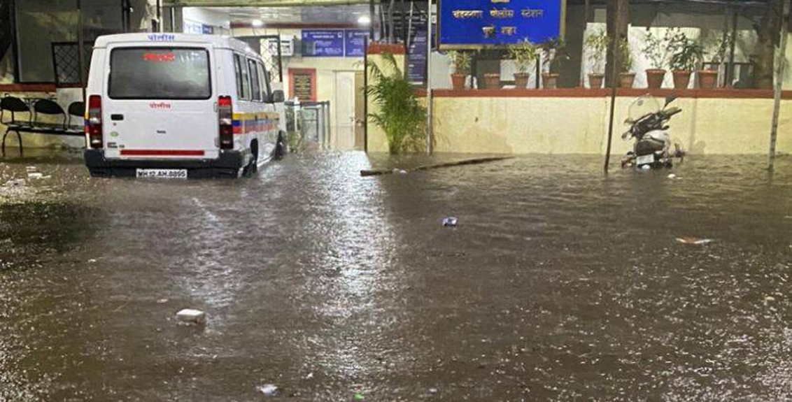 Heavy Rain in Pune city and district