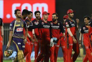 IPL 2020: RCB won the match against KKR