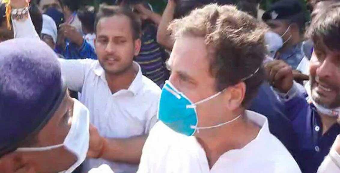 Rahul Gandhi arrested by Uttar Pradesh