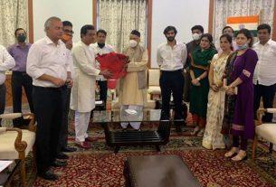 Raj Thackeray met the Governor