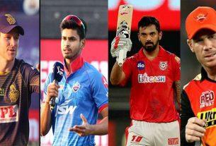 IPL 2020 double header match