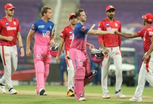 RR Rajasthan Royals won by 7 wickets