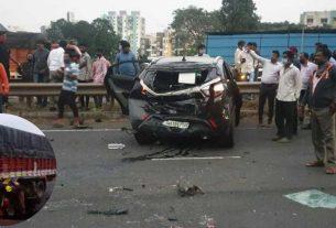 Accident Near Navale Bridge In Pune