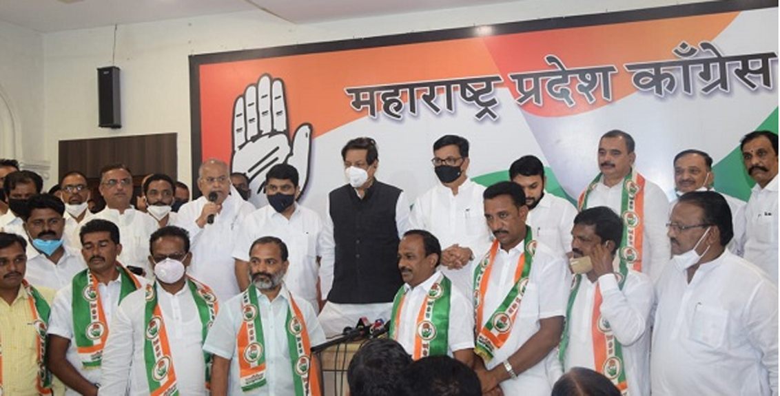 Dayanand Chorge join congress
