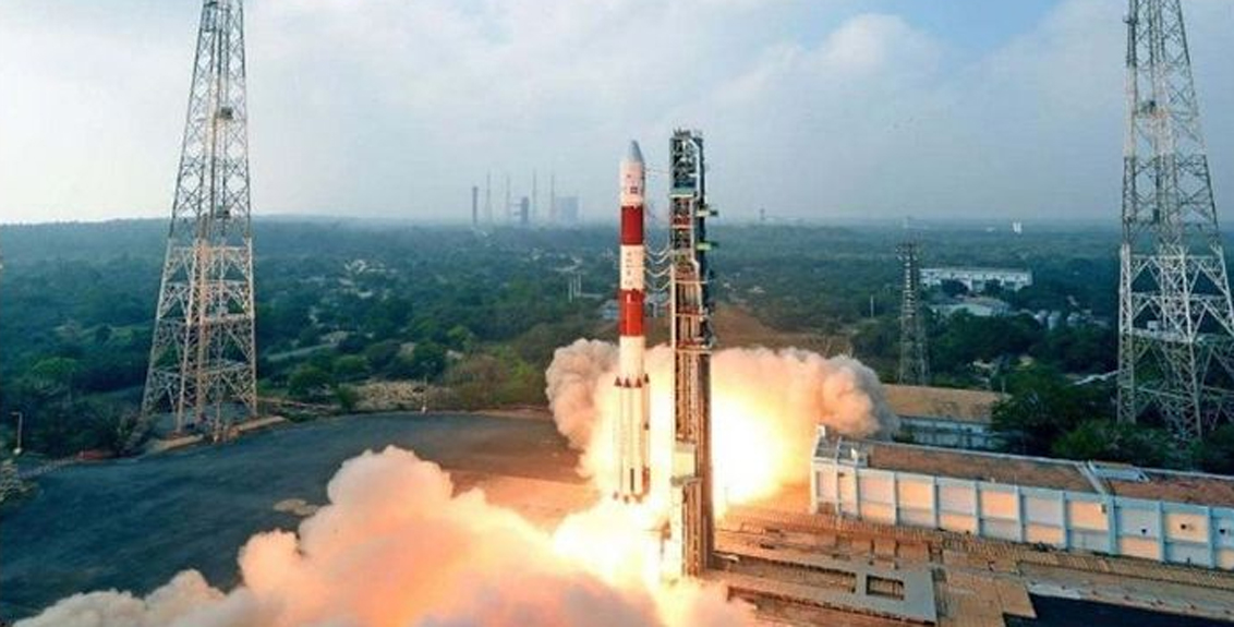 ISRO successfully launches 'Earth Observation Satellite'