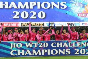 cricket womens ipl 2020 trailblazers beat supernovas