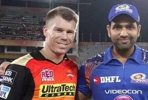 Mumbai Indians and Sunrisers Hyderabad