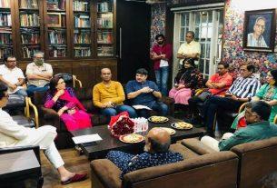 Marathi artists met Raj Thackeray