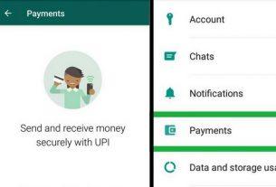 Money transfer from Whatsapp