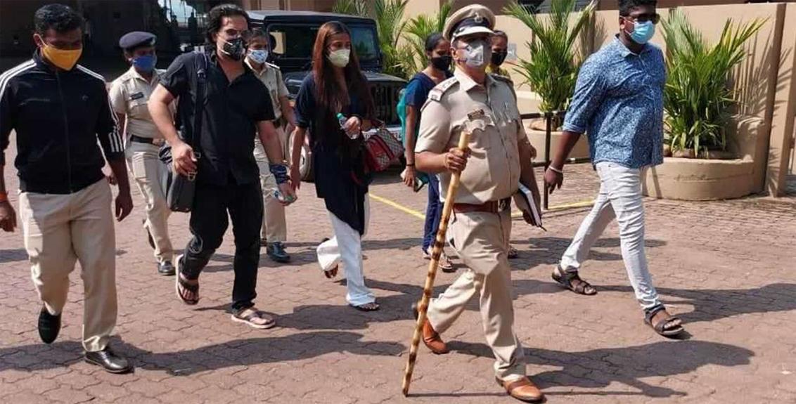 Poonam Pandey arrested