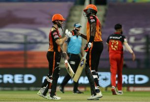Hyderabad won by 6 wickets