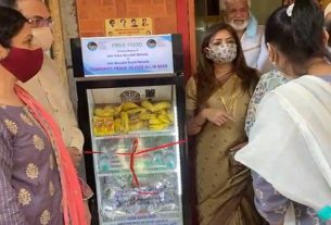 Shivsena started Community fridge Facility at Byculla