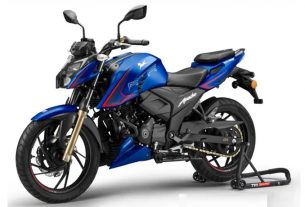 TVS launches updated Apache RTR 200