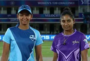 Women's T20 Challenge: Supernovas vs Velocity