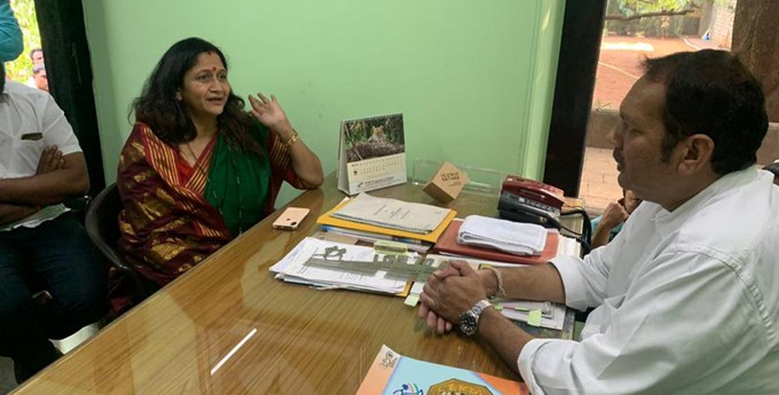 The controversy in the series 'Aai Majhi Kalubai' reached Udayan Raje Bhosale