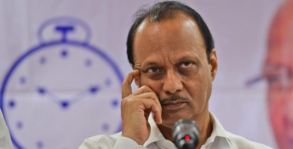deputy cm Ajit Pawar targeted BJP