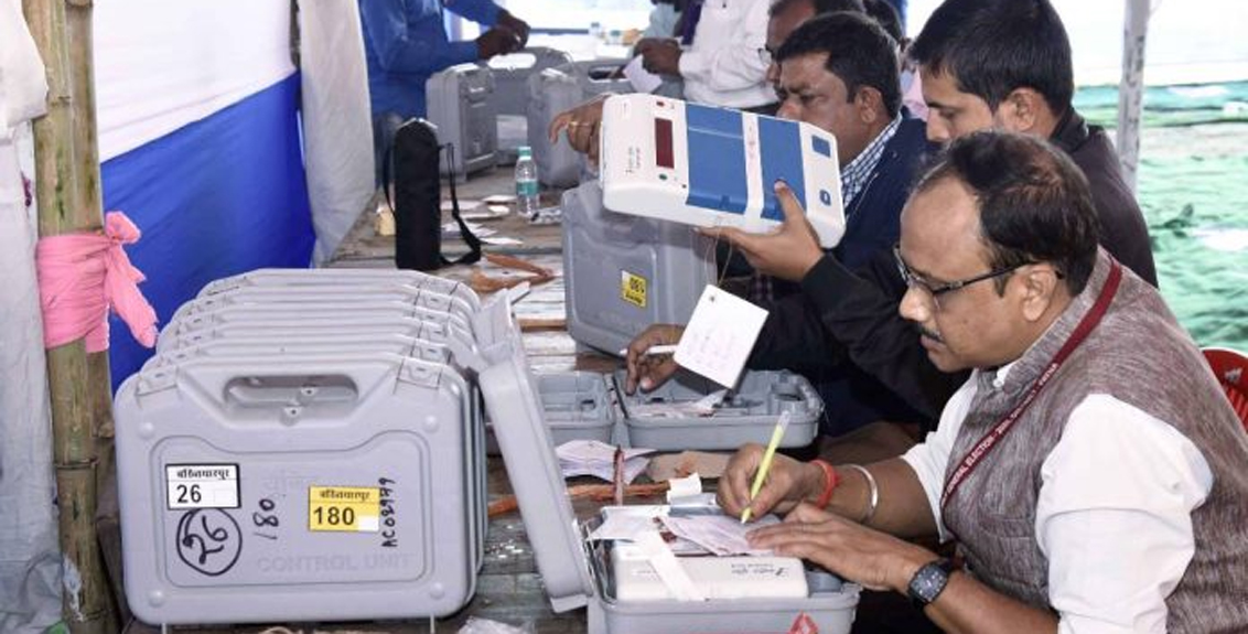 counting of votes for the Bihar Assembly elections