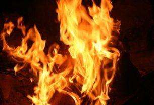 girl was burned alive