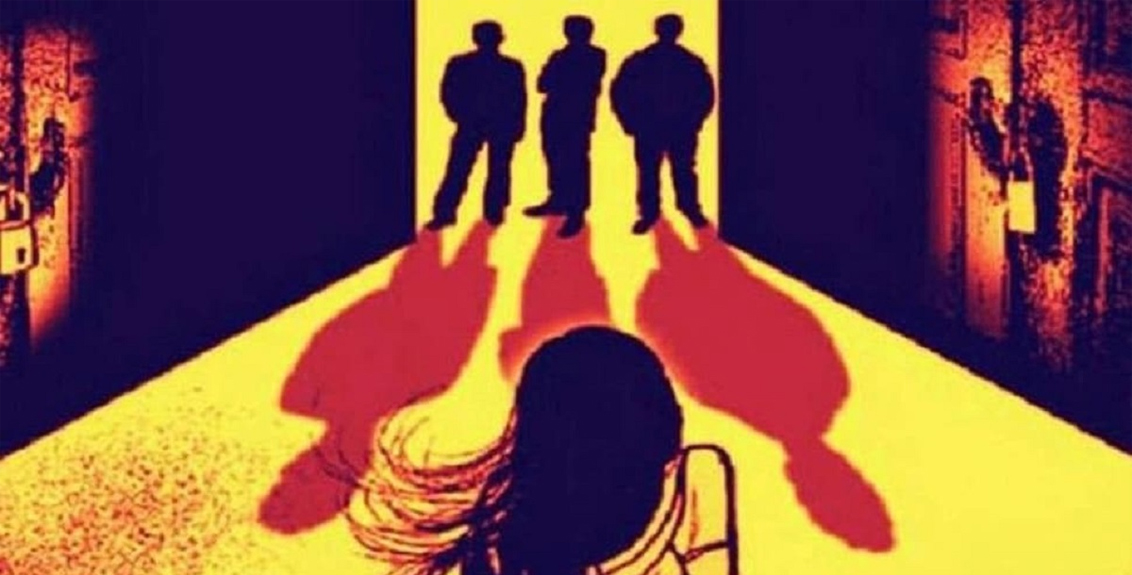 A young woman was abducted, gang-raped and forcibly poisoned