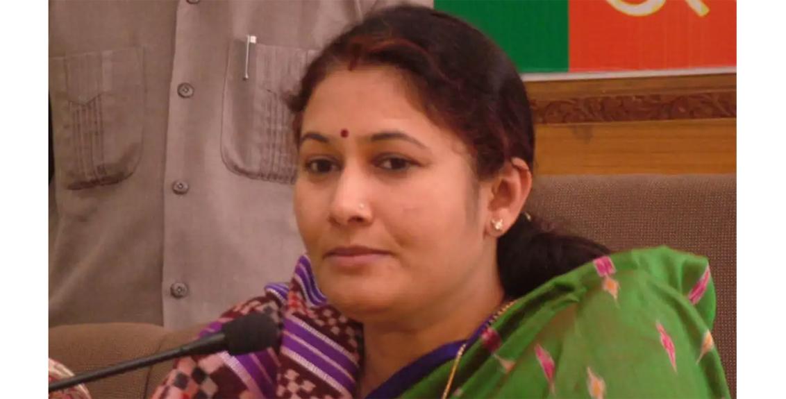 BJP MLA Kiran Maheshwari