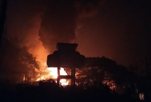 Explosion in small scale chemical industry near Khopoli