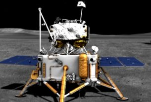 Chinese spacecraft lands on the moon
