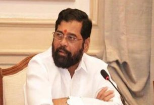 Urban Development Minister Eknath Shinde
