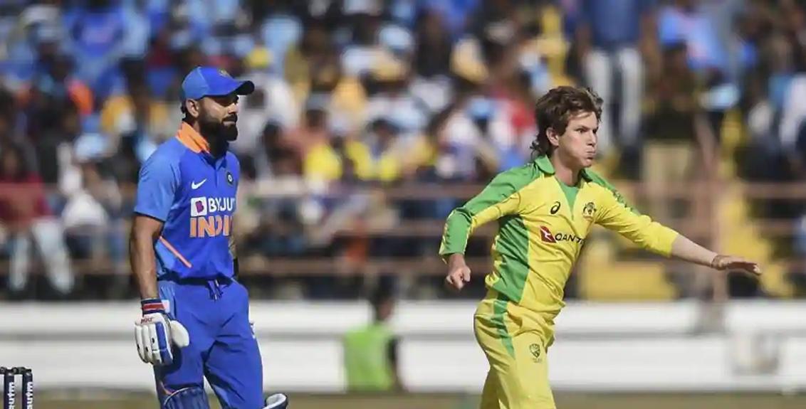 Ind vs Aus 3rd ODI: Team India gives Australia 303 runs targetInd vs Aus 3rd ODI: Team India gives Australia 303 runs target