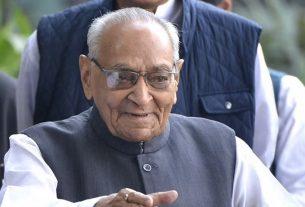 Senior Congress leader Motilal Vora passes away