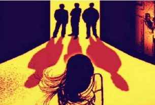The woman was gang-raped in her own house