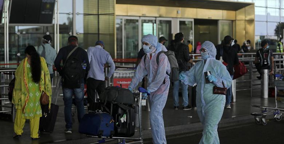 A new strain of corona virus was found in 20 passengers returning to India from Britain