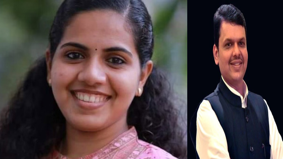 arya rajendran will became youngest mayor and break record of devendra fadnavis