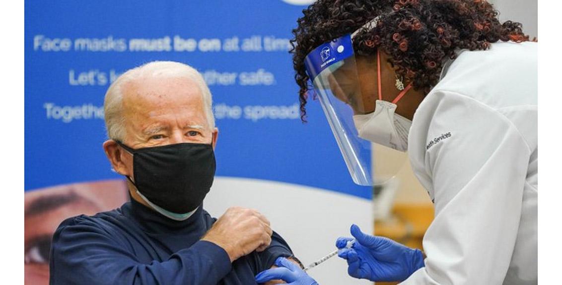 Corona vaccine taken by US President-elect Joe Biden