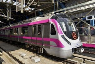 driverless Metro to run for the first time in the country