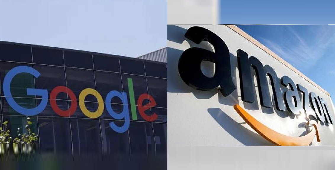 Google and Amazon fined 100 million euros