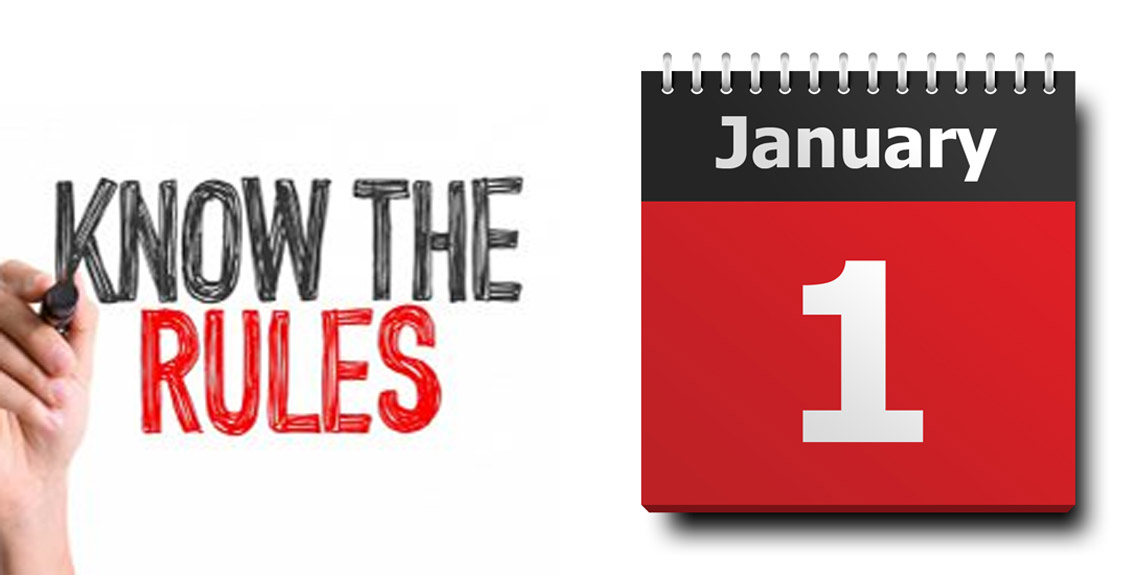 Find out the important changes that will happen in your daily life from January 1
