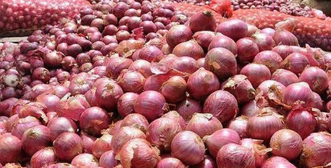 The export ban on onions was finally lifted by the central government
