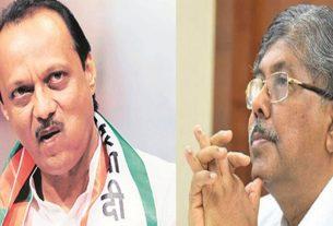 Ajit Pawar taunts Chandrakant Patil