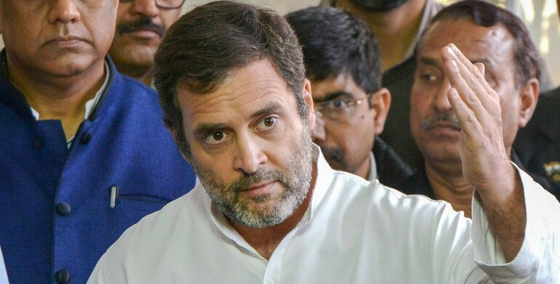 rahul Gandhi's reaction on the suicide of Sant Baba Ramsingh