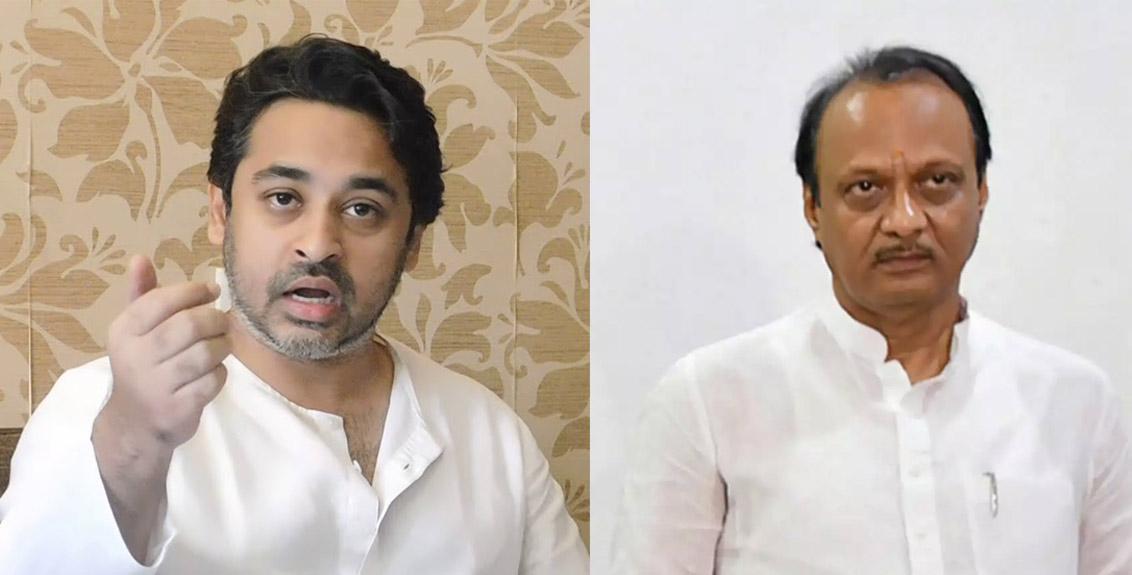 Nilesh Rane harshly criticise Ajit Pawar