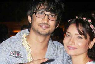 Ankita became emotional in Sushant's memory