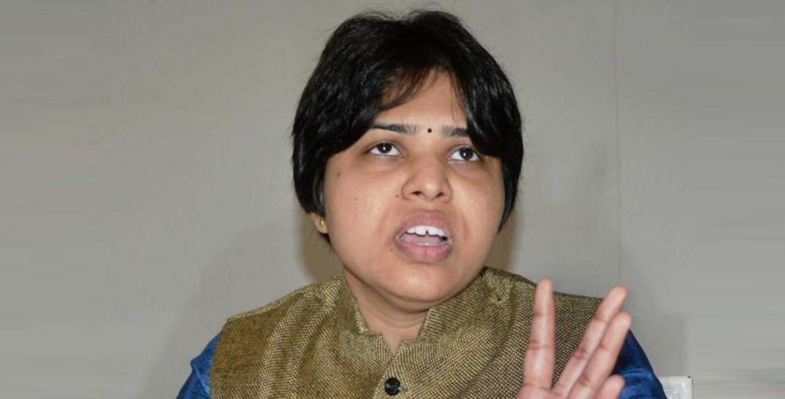 ShivSena Swati Pardeshi warning to trupti desai
