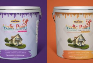 Vedic paint made from cow dung will be available soon